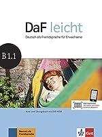 Daf Leicht: Kurs- Und Ubungsbuch B1.1 Mit DVD-Rom