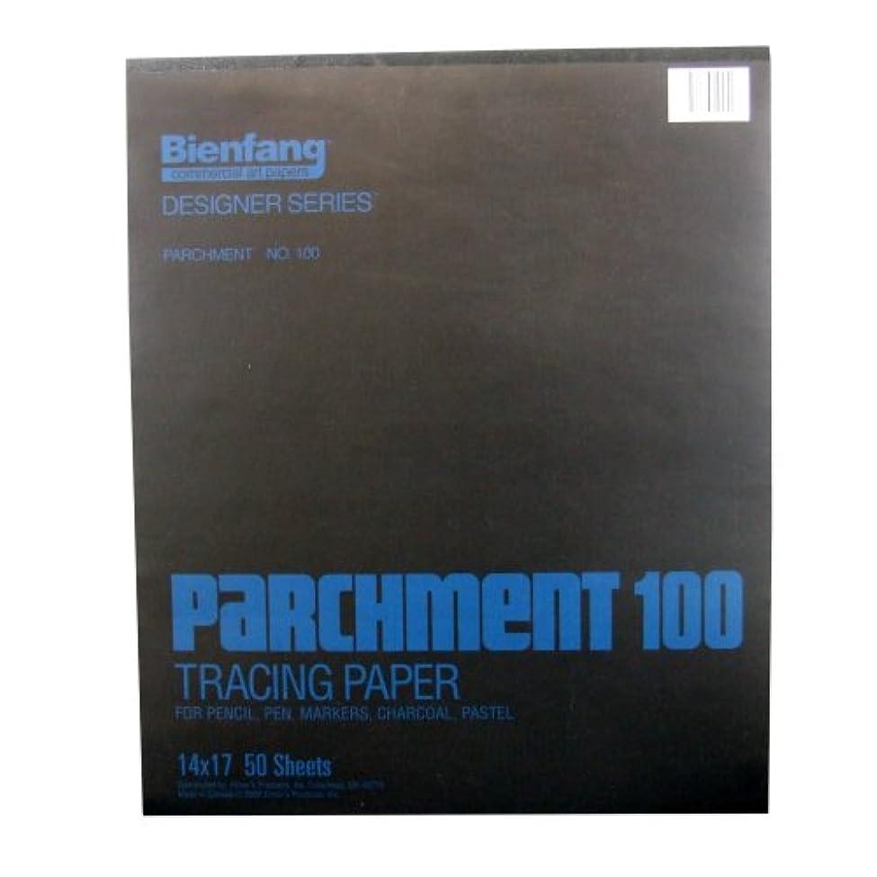 業界驚いたことに詩Bienfang パーチメント 100パッド 14 by 17-Inch ホワイト 240142