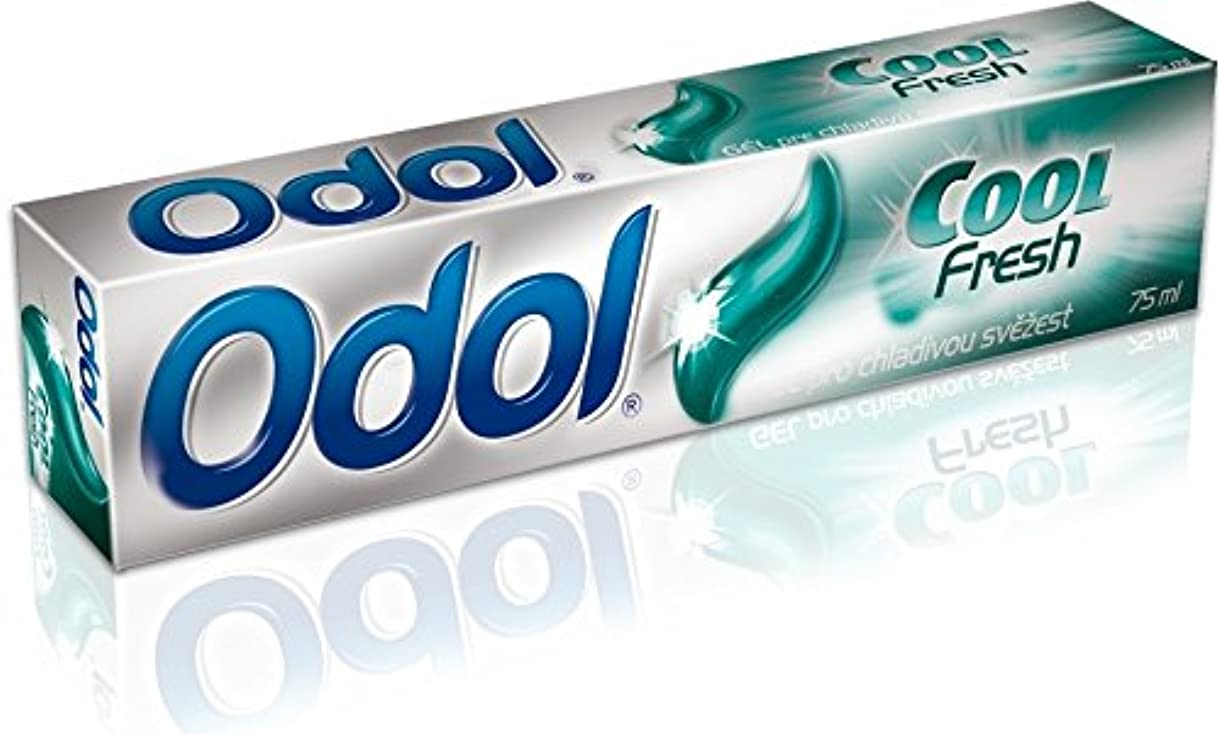 部分細胞六分儀Odol アロエベラ配合歯磨き粉ゲル [原産国:EU] 75ml 3個入り [並行輸入品]
