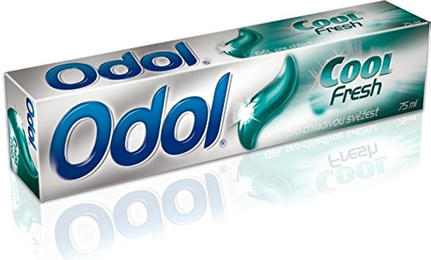 モニター三眉をひそめるOdol アロエベラ配合歯磨き粉ゲル [原産国:EU] 75ml 3個入り [並行輸入品]