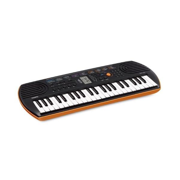 カシオ 電子ミニキーボード 44ミニ鍵盤 SA...の紹介画像4