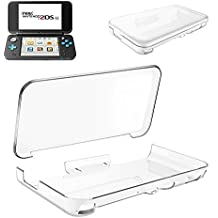 Nintendo 2DS LL ケース DOSMUNG Newニンテンドー2DS LL ケース 任天堂 2DS LL カバー クリスタル クリア 透明 PC素材 落下防止&衝撃吸収 軽量&薄 全面保護