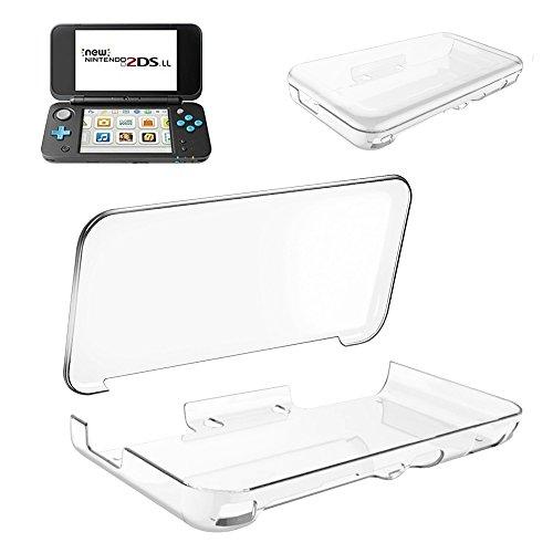 Nintendo 2DS LL ケース DOSMUNG Newニンテンドー2DS LL ケース 任天堂 2DS LL カバー クリスタル クリア 透明 PC素材 落下防止&衝撃吸収 軽量&薄 全面保護