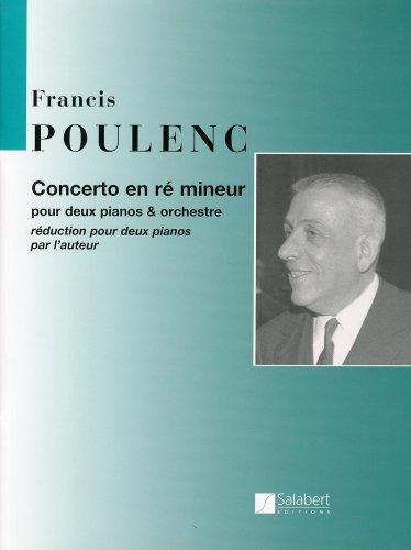 プーランク : 2台のピアノのための協奏曲/サラベール社/2...