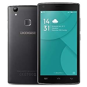 DOOGEE X5 MAX Proスマートフォン 4G FDD-LTE 3G WCDMA MTK6737 64ビット 5.0インチ IPS HD 1280 * 720 スクリーンAndroid 6.0 2G+16G 8MP+8MPカメラ 指紋認証 ロック解除 スマートジェスチャー OTG