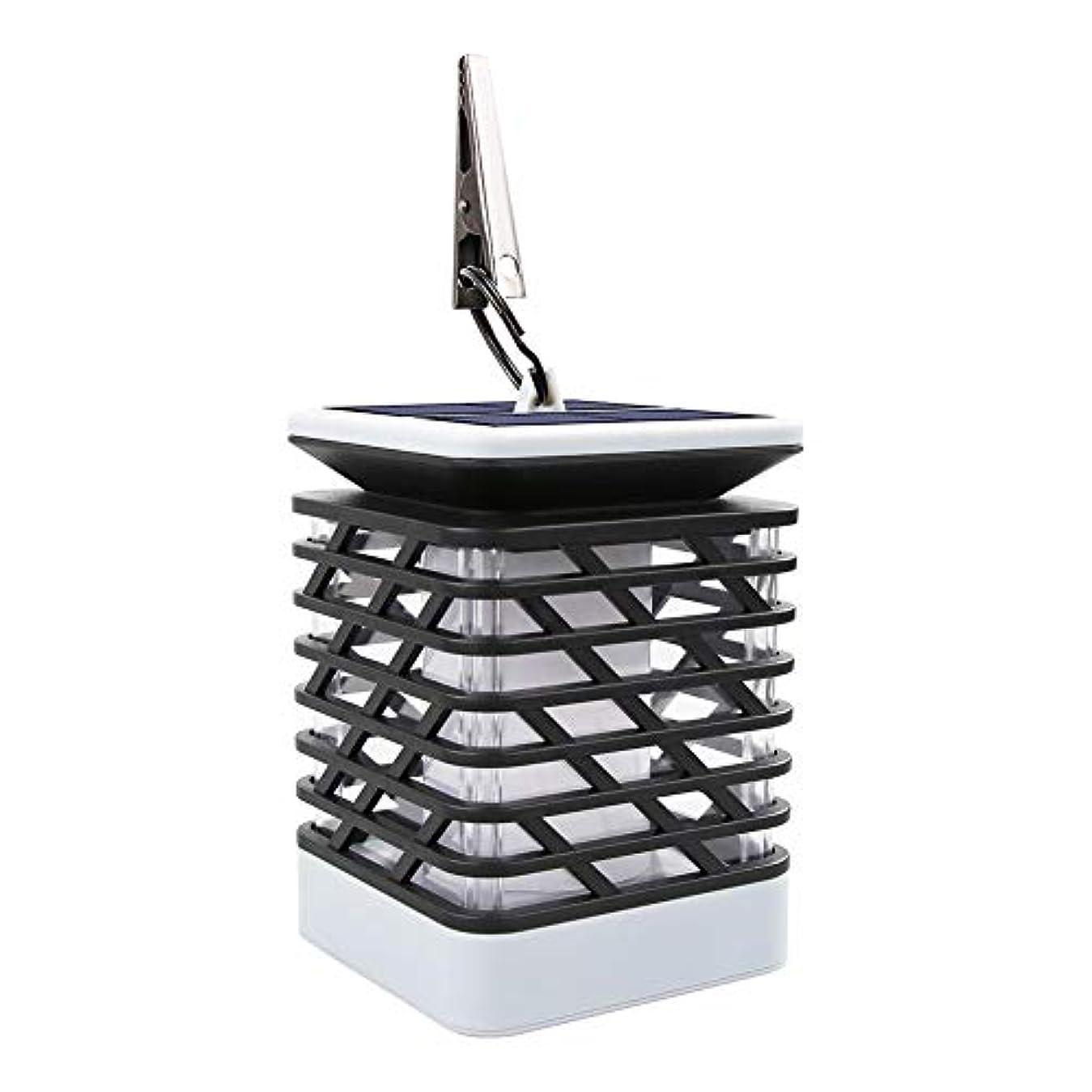 怠感頭音節ソーラーライトソーラー屋外LED防水シミュレーション点滅炎光ソーラーガーデン風景炎炎光(デモビデオ付)YH0812 sundengy