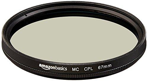Amazonベーシック カメラレンズ 円偏光フィルター 67mm CF02-NMC16-67