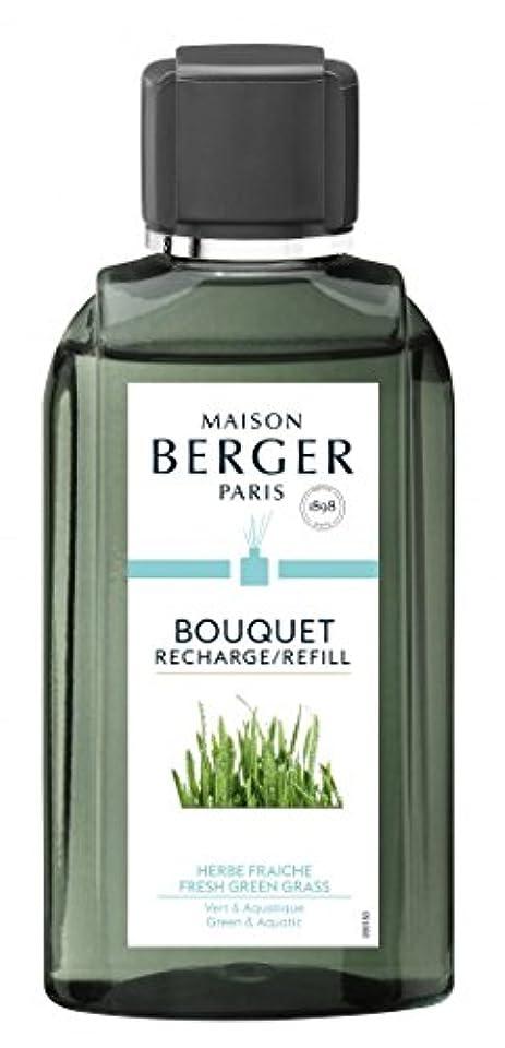 見落とすくびれたうれしいランプベルジェ Bouquet Refill - Fresh Green Grass 200ml並行輸入品