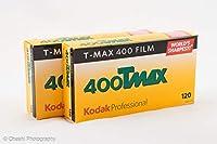 Kodak プロフェッショナル用 白黒フィルム T-MAX 400 120 10本パック