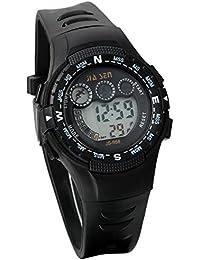 JewelryWe 腕時計 子供用 キッズ腕時計 男の子 ボーイズ腕時計 ボーイズウォッチ アナデジ表示 アラーム機能付き かっこいい スポーツウォッチ バックライトディスプレイ クロノグラフ 防水