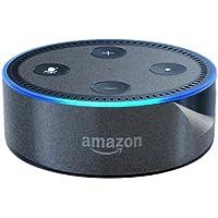 スキンシール Amazon Echo Dot (第2世代・2017年11月発売モデル) 【透明・すりガラス調】