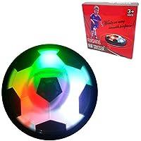Mrsightエアパワーサッカーディスク最新Hover GlideボールフローティングディスクLED点滅ライトElectricサスペンション空圧スポーツ子供キッズペットインドアアウトドアソフトフォームバンパーFootballおもちゃゲームギフト