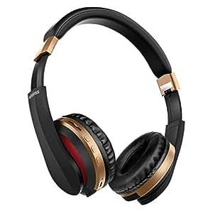 【最新 Bluetooth5.0】ブルートゥース ワイヤレスヘッドホン ヘッドフォン 高音質 有線無線兼用 10時間連続再生 マイク付き 通話可能 ノイズキャンセリング iPhone/iPad/Android対応