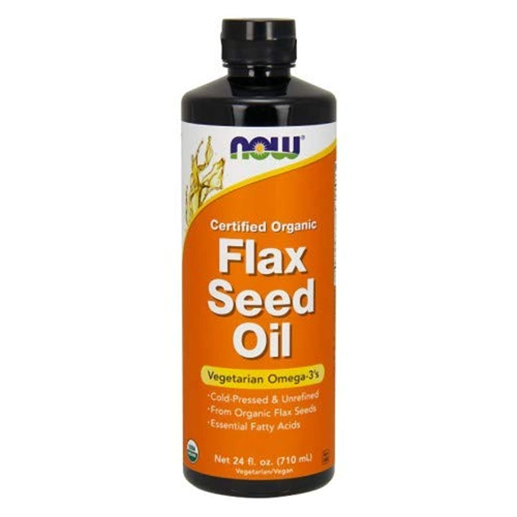 均等に再現する母性Flax Seed Oil (Certified Organic) 24