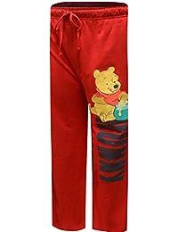 Disney Men's Winnie the Pooh Red Guys Lounge Pants