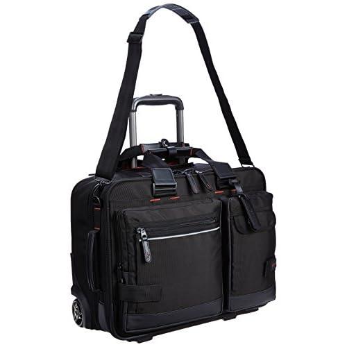 [バジェックス] BAGGEX ビジネスキャリーバッグ 横型 機内持込み可 出張対応 23-5580 BK (ブラック)