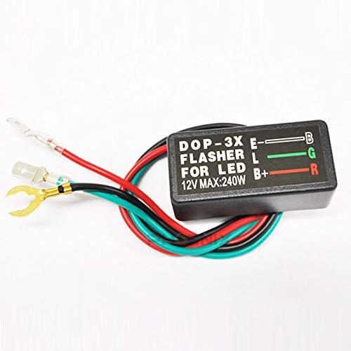 3947 LED ウインカーリレー 3ピン カチカチ音有 コ...