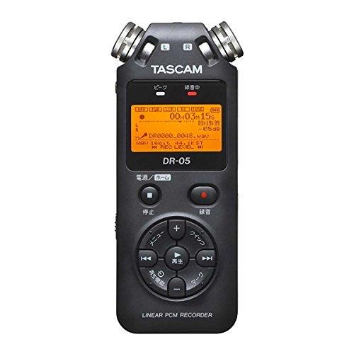 TASCAM DR-05 VER2-JJ ブラック  リニアPCMレコーダー