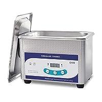 超音波洗浄器、800ML LCD調整可能タイマー家庭用ステンレス鋼洗濯機、バスケット、科学実験用メガネヒスイジュエリー脱脂ボトルニップル,110V