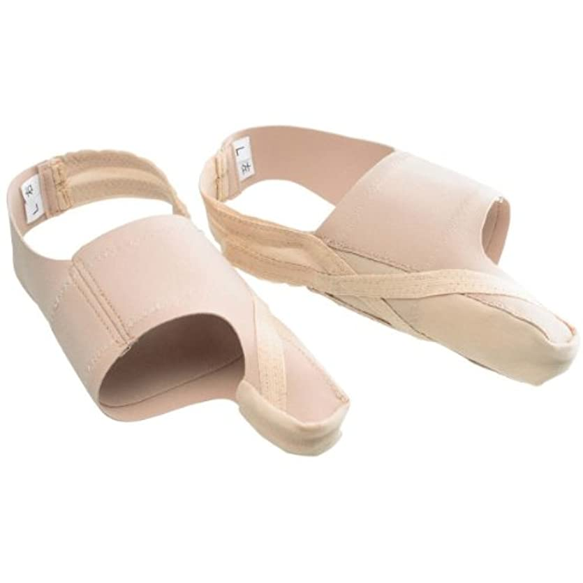 クロス気絶させるレビュアー外反母趾サポーター 【靴も履けるんデス 2足組 Lサイズ】
