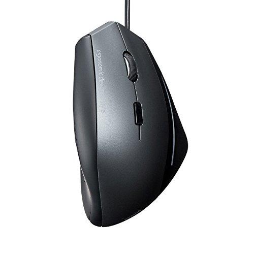 サンワサプライ エルゴブルーLEDマウス MA-ERG7