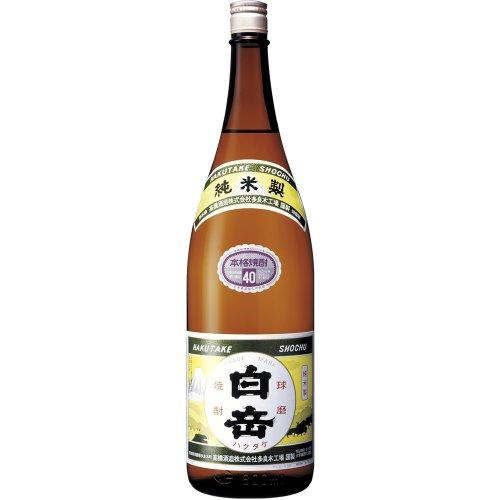 高橋酒造 白岳 米 40度 1800ml [熊本県]