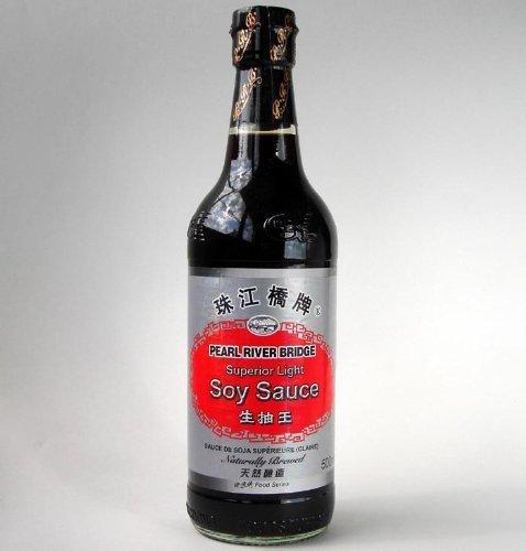 珠江橋牌 生抽王500g/瓶【中国醤油】【業務用】薄口