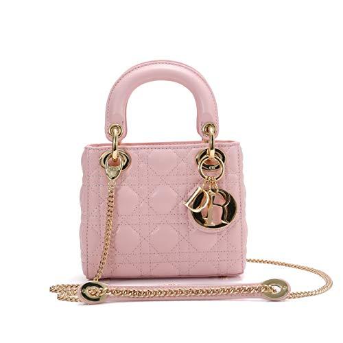 Dior(ディオール) LADY DIOR バッグ トートバッグ ハンドバッグ ショルダーバッグ チェーン ミニバッグ ラムスキン [並行輸入品]