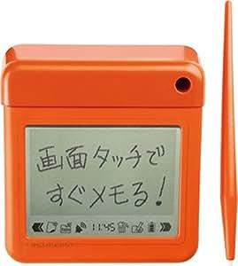 キングジム 卓上メモ マメモ  TM1 ビビットオレンジ