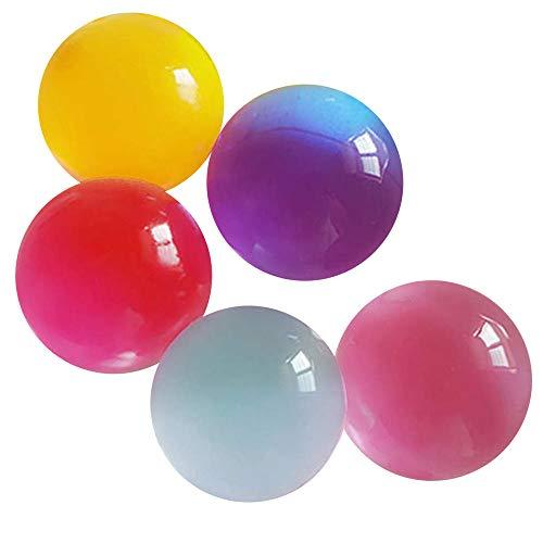 ビッグサイズ 水で膨らむ ジェリーボール ぷよぷよボール 5個セット 色ランダム バブルジェリー 観葉植物 インテリア プレゼント