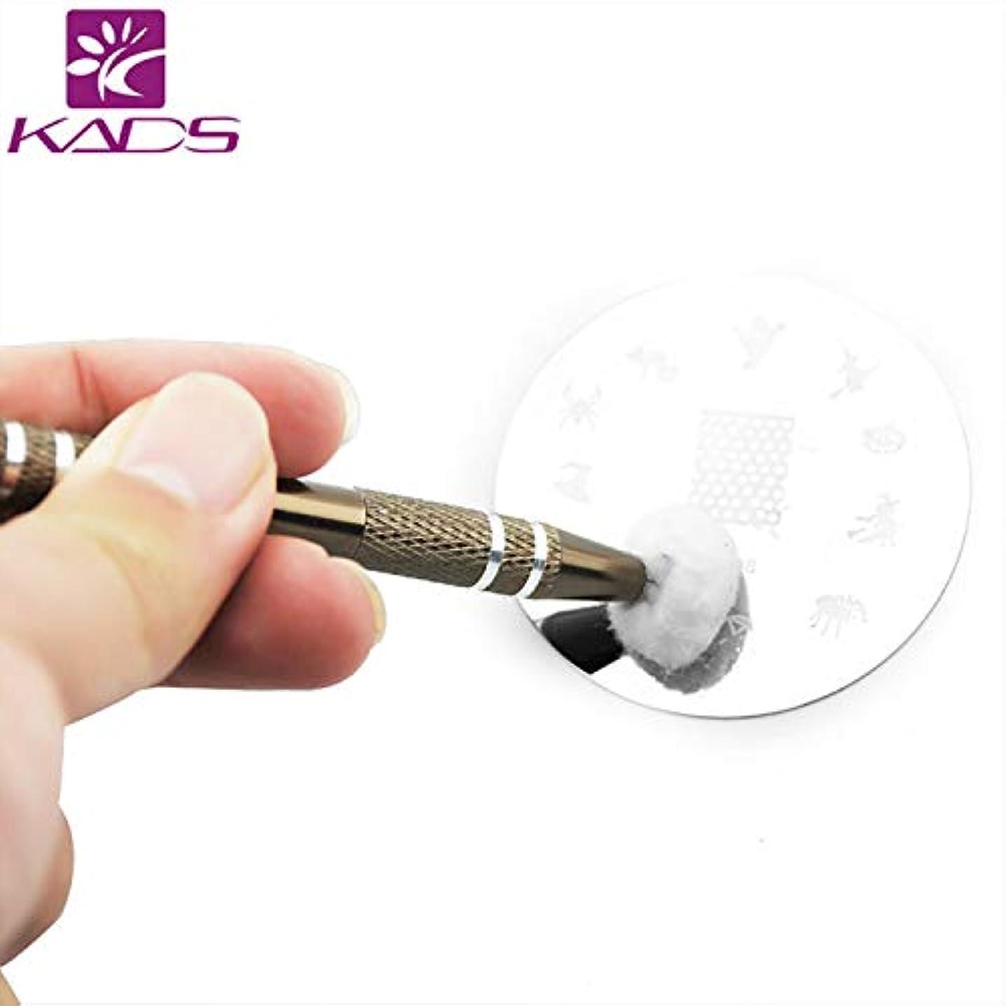 合理化マネージャー有名KADS イメージプレートクリーニングペン コットンキャッチペン スタンピングネイルツールネイルアートネイル用品