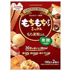昭和産業 (SHOWA) もちもちパンミックス (100g×2袋)×6箱入