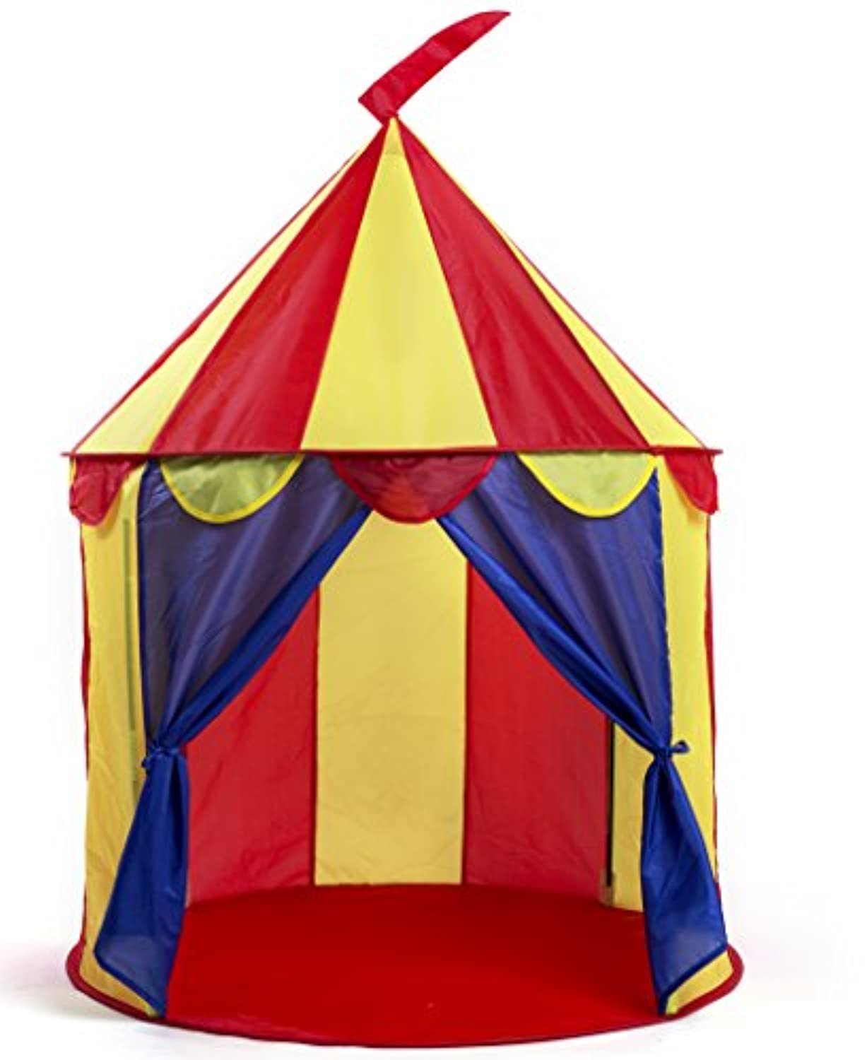 [Kiddey]Kiddey SALE!!! Circus Pop Up Play Tent for Kids Indoor/Outdoor Use Fun, Brightly Colored House Easy to [並行輸入品]