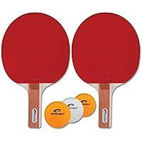 Spokey - STANDARD SET - Table Tennis Set - Two Bats + Balls by Spokey