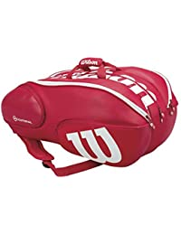 WILSON(ウィルソン)テニスバッグ VANCOUVER 15 PACK RDWH Pro Staff レッド WRZ840715