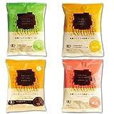 有機JAS 認定 化学調味料無添加 ノンフライ ラーメン 4種類16食 セット (有機小麦 100% 使用) (即席 袋麺 創健社)