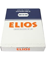 Elios Inoxidable 両刃替刃 100枚入り(10枚入り10 個セット)【並行輸入品】
