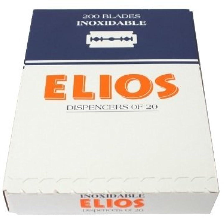 用心避難辞任するElios Inoxidable 両刃替刃 100枚入り(10枚入り10 個セット)【並行輸入品】