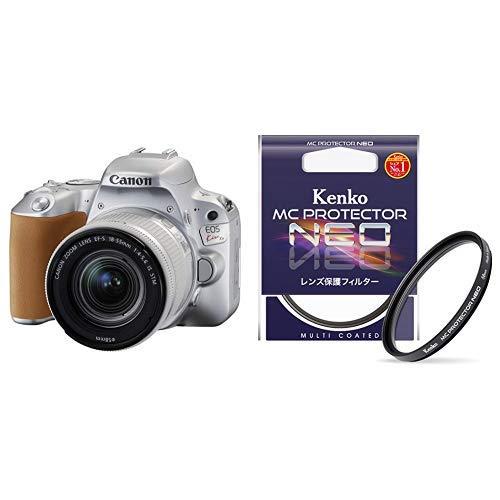フィルターセットCanon デジタル一眼レフカメラ EOS Kiss X9 (W)EF-S18-55 IS STM レンズキット(シルバー/デジタル一眼レフカメラ)