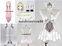 Fate/Grand Order★女王メイヴ 第二段階☆髪飾り*靴*手袋*靴下*ウィッグ付き☆コスプレ衣装