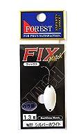 フォレスト(FOREST) スプーン フィックス マッチ 1.3g シルバーホワイト #2 ルアー