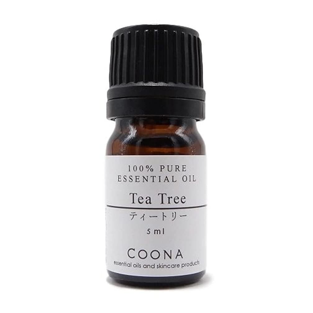 予防接種するガイドライン名詞ティートリー 5 ml (COONA エッセンシャルオイル アロマオイル 100%天然植物精油)