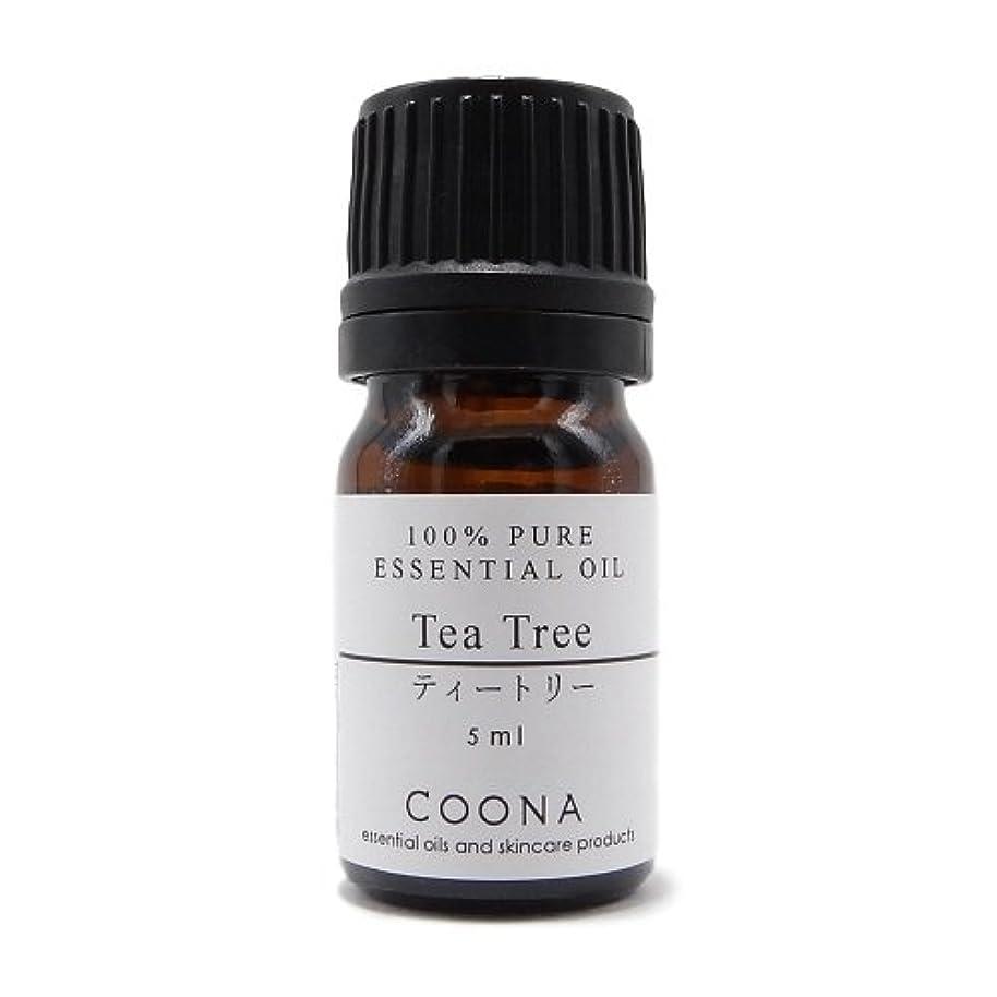 パースブラックボロウ花束盆ティートリー 5 ml (COONA エッセンシャルオイル アロマオイル 100%天然植物精油)