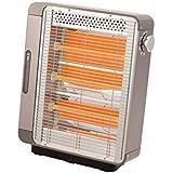 コイズミ 電気ストーブ 960/640/320W スチーム機能付 グレー KEH-0980/H