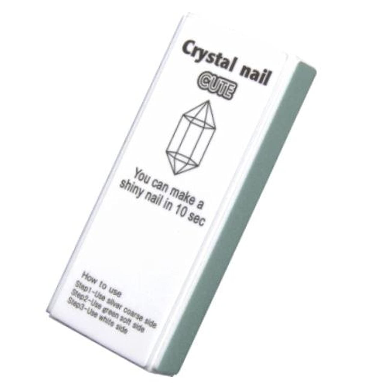 メタリック器具金銭的なクリスタルネイル キュート(ケースなし)
