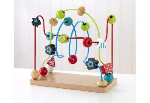 KIDKRAFT キッドクラフト ビード メイズ ルービング 木製 ビーズ パズル 知育玩具 【63241】