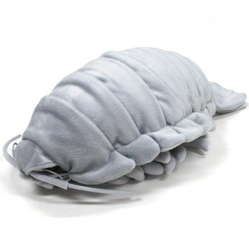 深海生物シリーズダイオウグソクムシ ぬいぐるみ特大 グレー 7317
