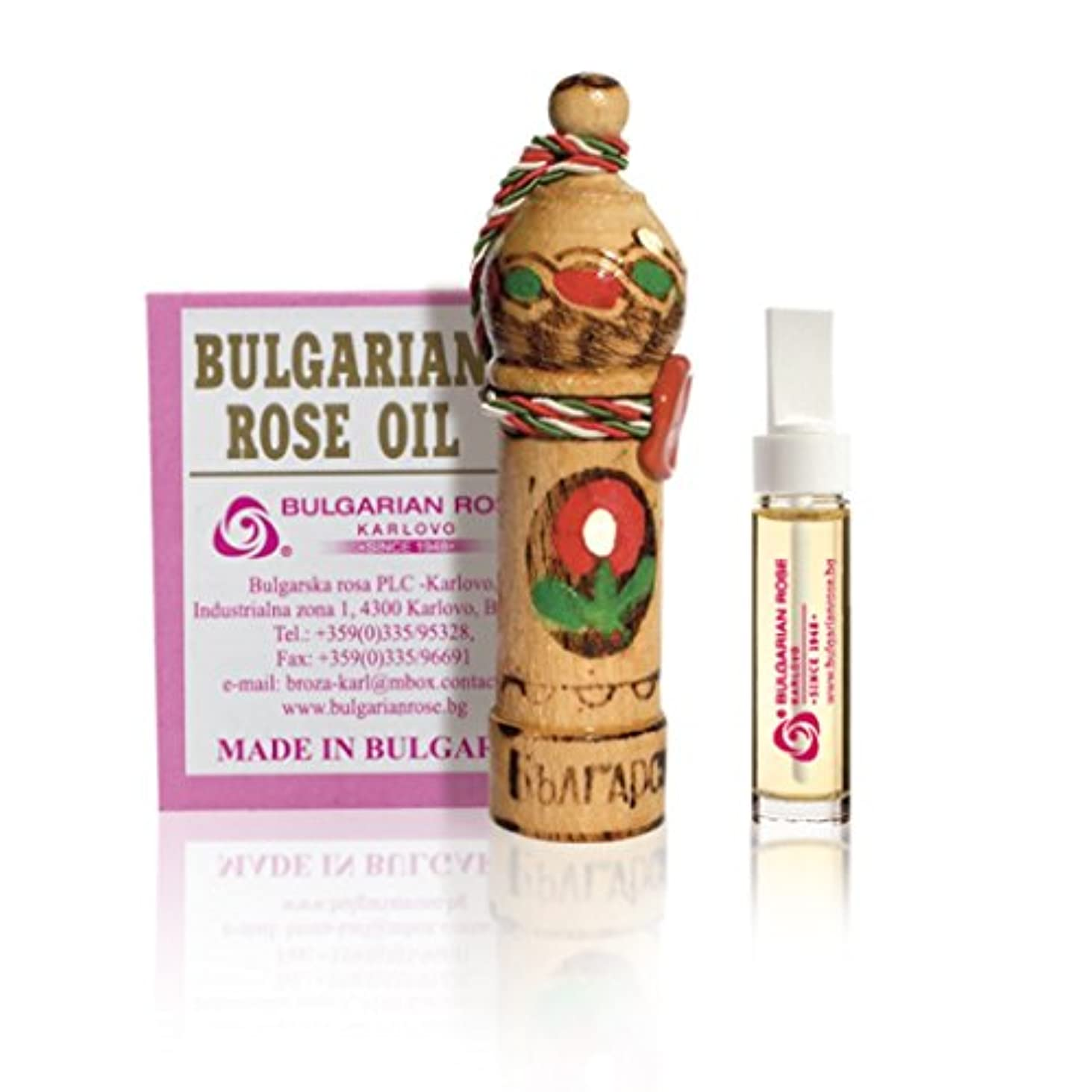 領事館系統的記述する100% Pure Bulgarian Rose Oil Otto Essential Oil 1G by Rose oil 1g