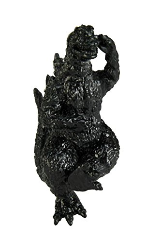 回天堂 ゴジラ根付 ゴジラ1965 (黒) 全高約70mm ポリストーン製 塗装済み 完成品 フィギュア