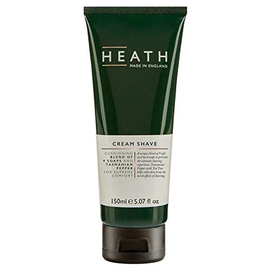 平らな歯輸血[Heath] ヒースクリームシェーブローション150Ml - Heath Cream Shave 150ml [並行輸入品]